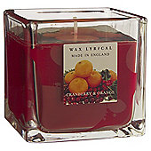 Wax Lyrical Made in England Cranberry & Orange Filled Candle