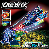 Lite Wars Lite Brix - War Hawk VS. LT Blaze