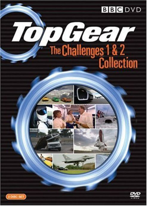 Top Gear - The Challenges 1-2 (DVD Boxset)