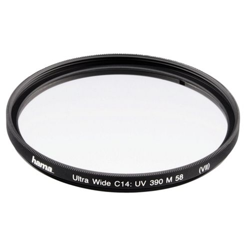 Hama UV Filter 390 (O-Haze) Wide 3 mm, C14 coated - 72.0 mm