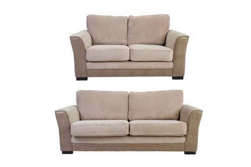 Buy Devon 3 2 Seater Sofa Set Cream From Our Fabric