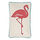 Linea Flamingo Cushion
