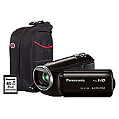 Panasonic HC-V130 Black Camcorder Kit inc 16GB Class 10 SD Card and Case