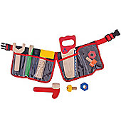 Bigjigs Toys BJ311 Red Tool Belt