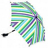 Petite Star Striped Parasol (Green Grape)