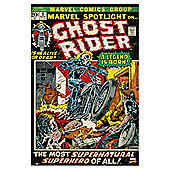 Marvel Ghost Rider Comic Maxi Poster, 92x61cm