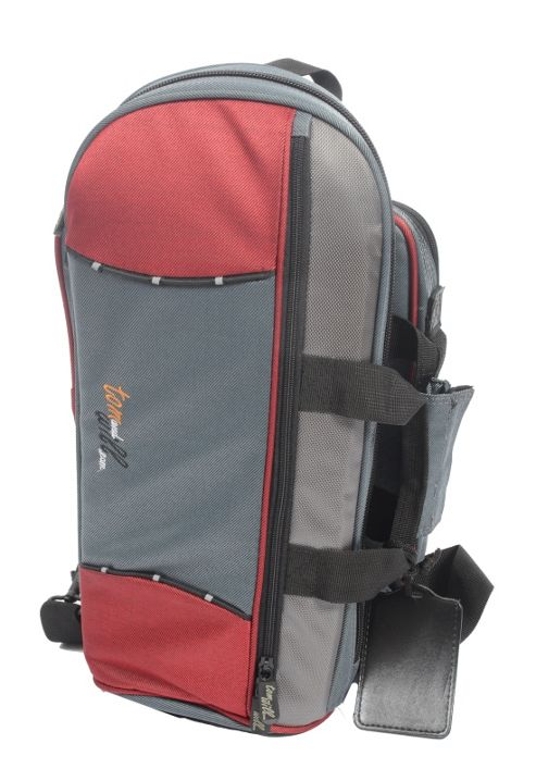 Tom and Will Cornet Gig Bag - Red & Grey