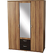 Home Essence Shearwater 3 Door Wardrobe