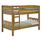 Verona America Bunk Bed Frame - Small Single - Antique Lacquer
