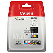 Canon Inkjet CLI 551 Printer Ink Cartridge - Tri-Colour
