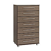 Ideal Furniture New York 7 Drawer Chest - Wenge