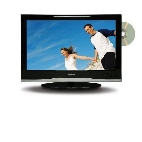 Sanyo CE32LD08DV-B 32inch Widescreen LCD TV  and Built in DVD with Freeview