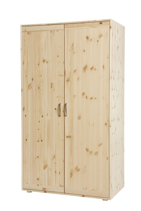 Flexa Wide Wardrobe - Natural Lacquer
