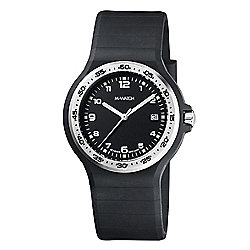 M-Watch Maxi Black Mens Resin Date Watch A661.30615.20.01