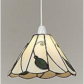 Loxton Lighting Tiffany 1 Light Bowl Pendant