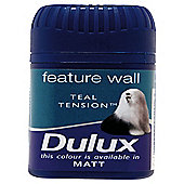 Dulux Feature Wall Tester Teal Tension 50Ml
