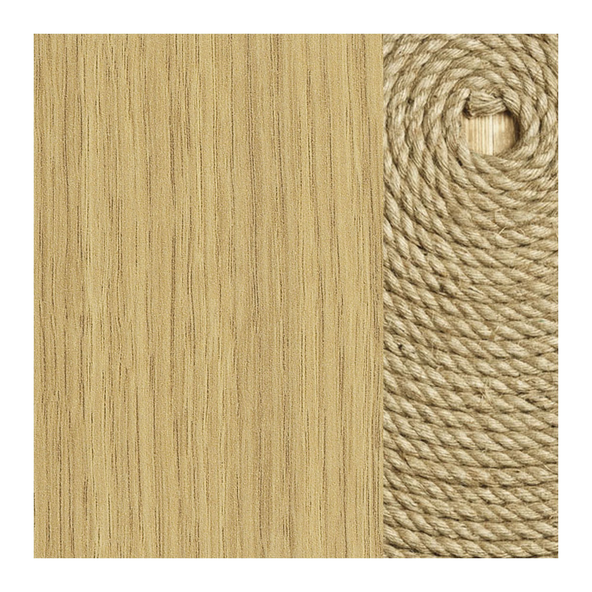 Didit Wardrobe - Essential Oak Natural at Tesco Direct