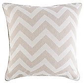 Chevron Cushion 43 x 43cm, Taupe