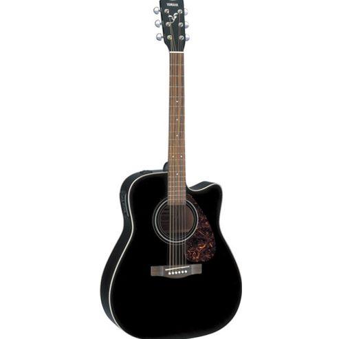 Yamaha FX370C 4/4 Electro Acoustic Guitar - Black