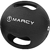 Marcy Double Handle Medicine Ball Rubber - 9kg