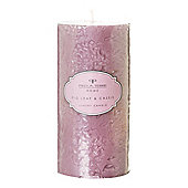 Pied A Terre Fig Pillar Candle In Multi-Colour