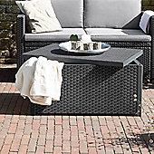 Allibert Arica Graphite Grey Cushion Storage Table