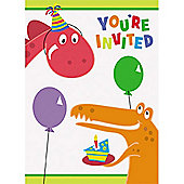 Dinosaur - Dino Party Invitation Cards (8pk)