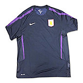 2011-12 Aston Villa Nike Graphic Tee (Navy) - Navy