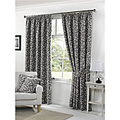 Woodleigh Pencil Pleat Curtains 168 x 137cm - Grey