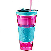 Snackeez Drink Cup - Pink and Blue