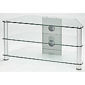 Jual Furnishings Ltd Glass Medium Corner TV Stand for LCD / Plasmas