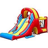 Kids Double Mega Slide Combo Bouncy Castle 9082N