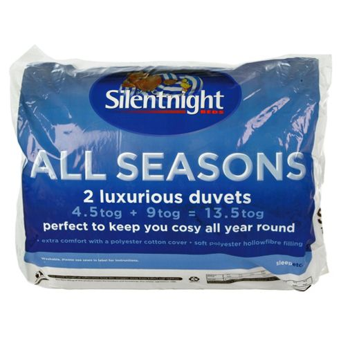 Silentnight All Seasons 4.5/9 Tog Duvet King