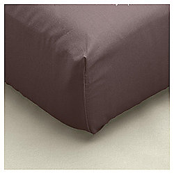 Kingsize Fitted Sheet - Chocolate