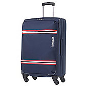 Samsonite American Tourister Berkeley 4-Wheel Suitcase, Blue Medium