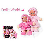 Dolls World 25cm Pink Doll My First Baby
