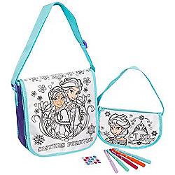 Disney Frozen 2 Pack Colour Your Own Bag Set