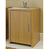 Pure - Office Hideaway Storage Cupboard - Oak