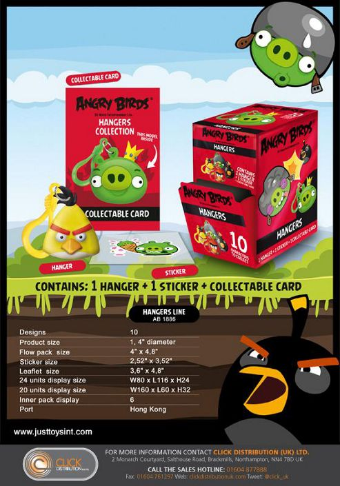 Angry Birds Hanger Blind Foil Bag