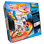 Hot Wheels Track Set HW City - Copter Port
