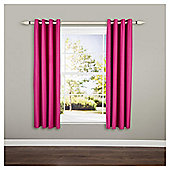 Blackout Eyelet Curtains W117xL183cm (46x72''), Pink