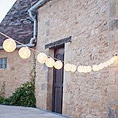 20 Warm White LED Chinese Lantern Fairy Lights
