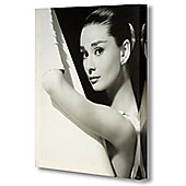 Hill Interiors Audrey Hepburn in Shower Canvas Art