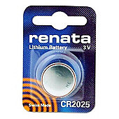 Renata CR2025 Watch Battery (Single Pack)