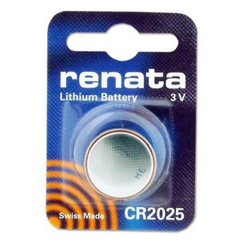 Renata CR2025 Single Pack Watch Battery