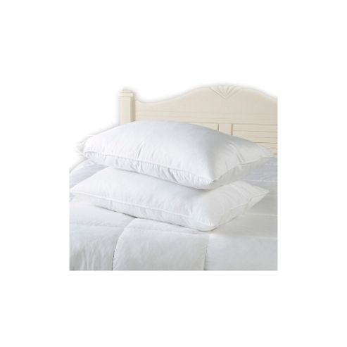 Egyptian Cotton Pillow Pair Silk Like Fibre Filling 233 Thread Count Cover