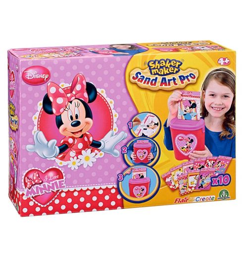 Shaker Make Disney Minnie Mouse Sand Art Pro