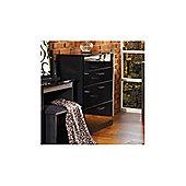 Welcome Furniture Mayfair 4 Drawer Deep Chest - White - Ebony - Ebony
