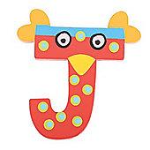 Tatiri Crazy Bird Letter J (Red)