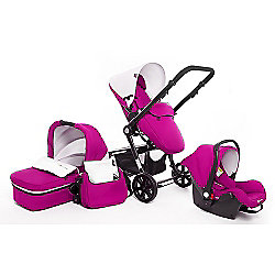 KinderKraft Travel System Package (Purple)